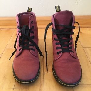 Dr. Martens Canvas Boots - Sheridan, size 6